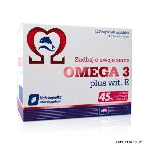 Olimp OMEGA 3 plus wit. E 120kapOlimp OMEGA 3 plus wit. E 120kap