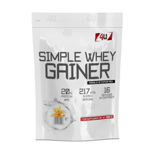 4U Simple Whey Gainer - 1000g