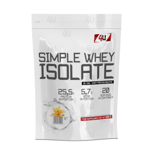 4U Simple Whey Isolate - 600g +100g4U Simple Whey Isolate - 600g