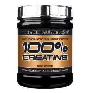 Scitec 100% Creatine Monohydrat 500gScitec 100% Creatine Monohydrat 500g