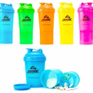 Amix Shaker Monster Bottle Color - 600mlamix shaker