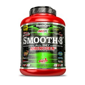 Amix MUSCLECORE Smooth-8 Hybrid Protein - 2300gsmooth 8 amix