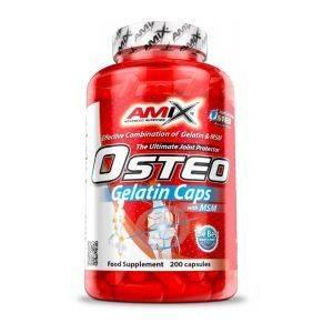 Amix Osteo Gelatin Caps - 400 kap.Amix Osteo Gelatin Caps - 400 kap.