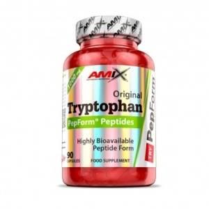 Amix L-Tryptophan PepForm 1000mg - 90kapAmix L-Tryptophan PepForm 1000mg - 90kap