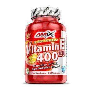 Amix Vitamin E 400 IU - 100kapAmix Vitamin E 400 IU - 100kap