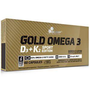 Olimp Gold Omega 3 D3+K2 - 60 kapOlimp Gold Omega 3 D3+K2 - 60 kap