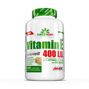 GreenDay Vitamin E 400 I.U. LIFE+ 200kapGreenDay Vitamin E 400 I.U. LIFE + 200kap