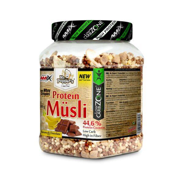 Mr. Popper´s Protein Müsli 500g