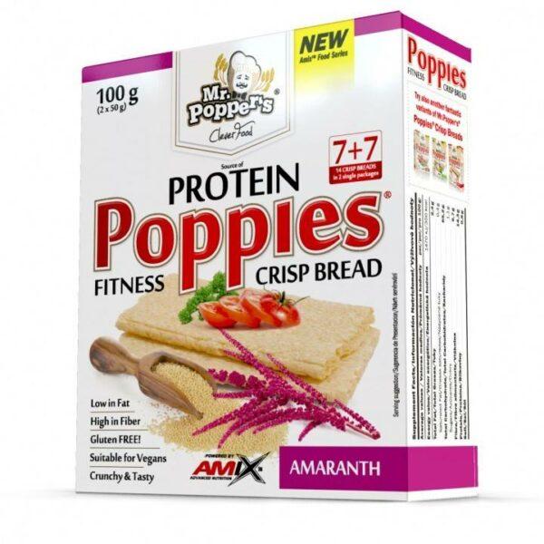 Mr. Popper´s Poppies Crisp Bread 100g