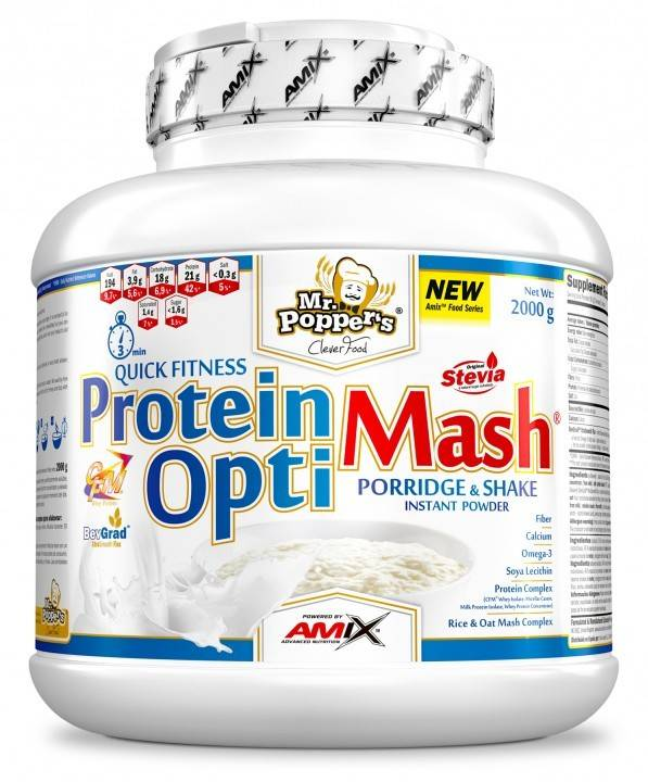 Amix Mr. Poppers Protein OptiMash 2000g