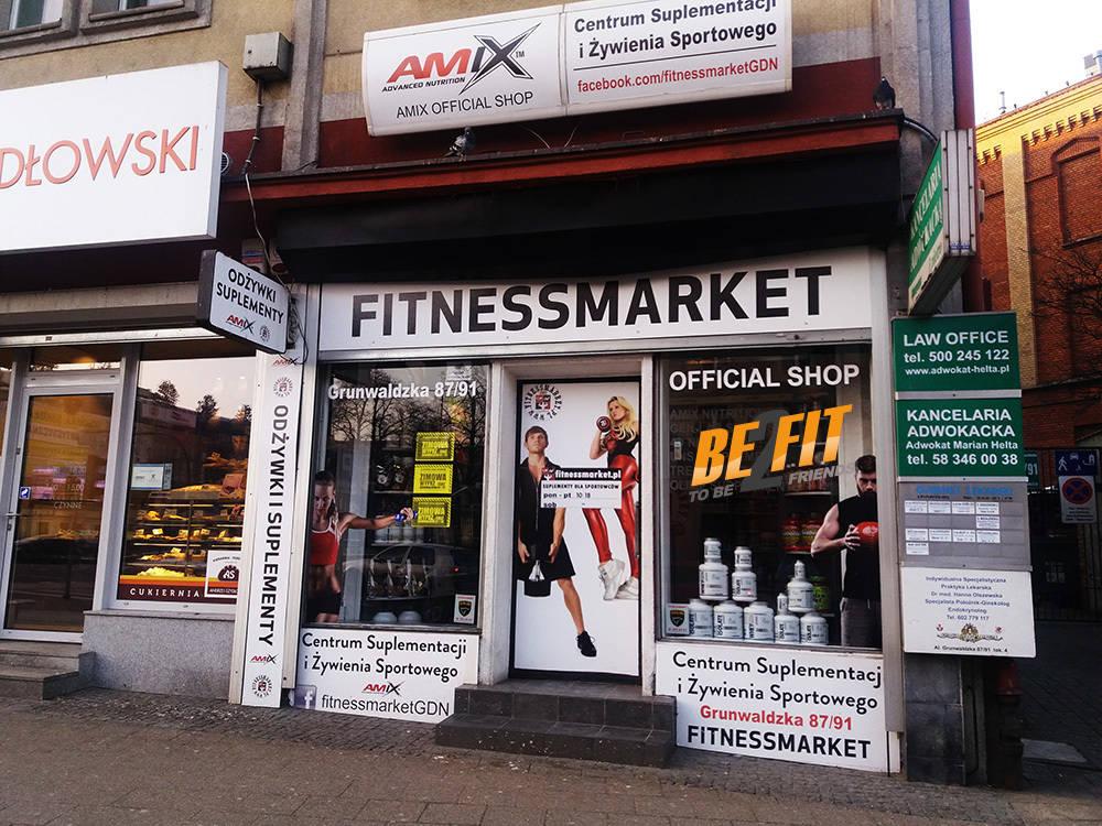 Odżywki Gdański - sklep stacjonarny 2befit