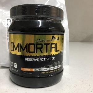 4U Nutrition Immortal 500g przedtreningówka