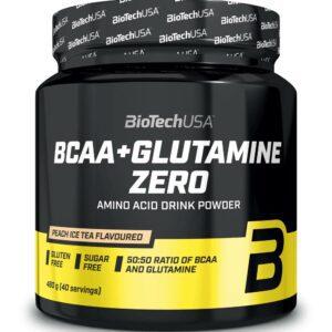 Biotech BCAA+Glutamine Zero 480gbcaa glutamine zero