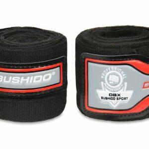 Bushido Elastyczne Bandaże Bokserskie 4mbushido elastyczne bandaże bokserskie