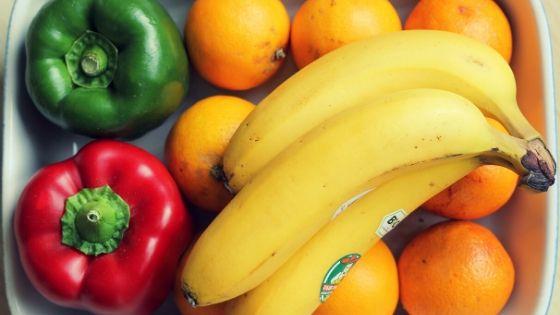 owoce i warzywa na redukcji