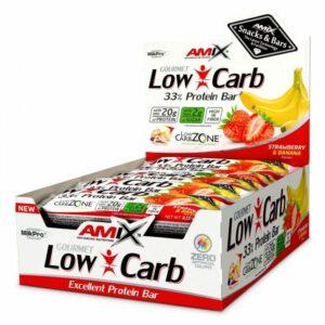 AMIX BATON LOW-CARB 33% 60 Gbaton proteinowy