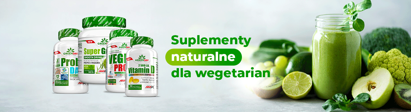 Suplementy naturalne dla wegetarian